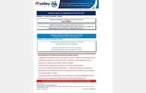 Avril 2021 : Nouveau PROTOCOLE - Pratique du Volley-Ball