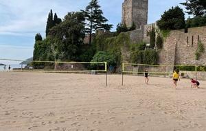 MLN Volley-Ball au Château de La Napoule